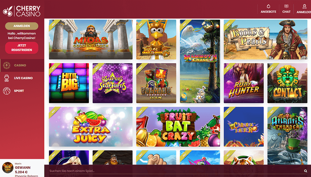 Die Cherry Casino Slots