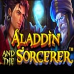 Logo des Slots Aladdin and the Sorcerer