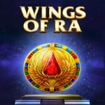 Logo des Slots Wing of Ra
