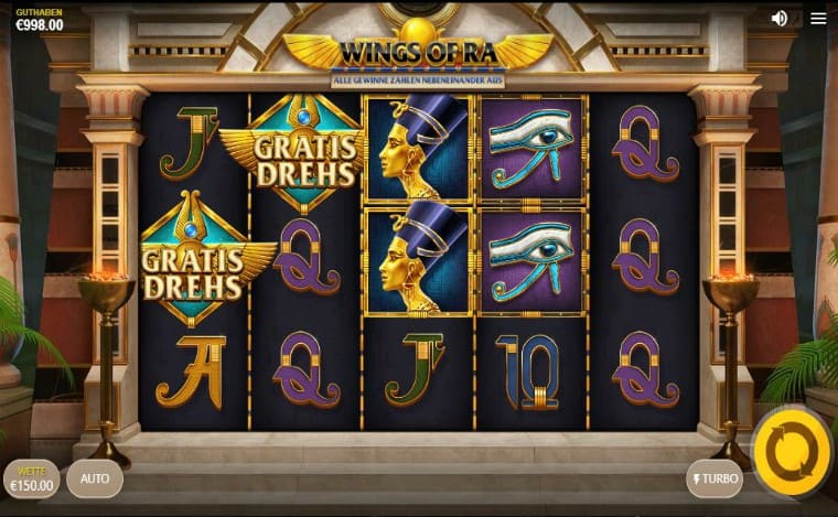 Screenshot Wings of Ra