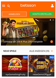 Mobile Betsson Webseite_1