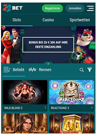 Mobile 22Bet Casino Webseite